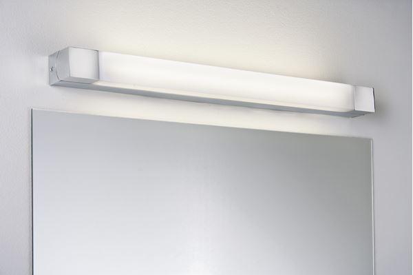 """APPLIQUE """"QUASAR"""" 14W G5 CHROME/BLANC IP44 - Intérieur décoratif"""