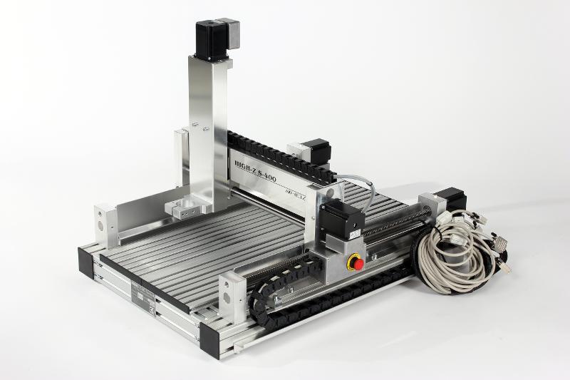 CNC Portalfräse S-400 - CNC Graviermaschine