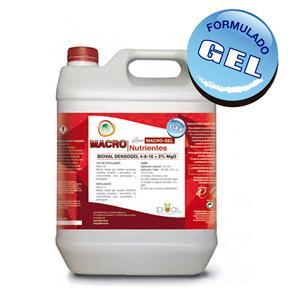 Bioval Densogel 4-8-16 + 2% MgO - 1 Litro - Fertilizante NPK concentrado