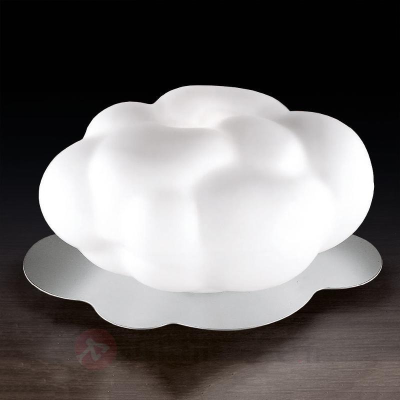 Lampe à poser Nuvola en verre soufflé - Lampes de chevet