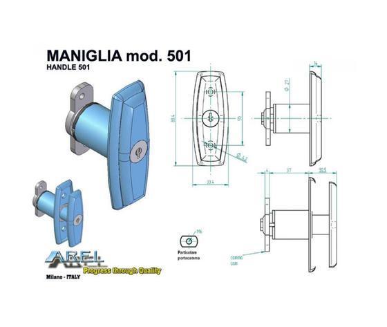 Maniglie - Maniglie 501