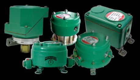 Pressure Switches - Instruments, Connections & Compensators