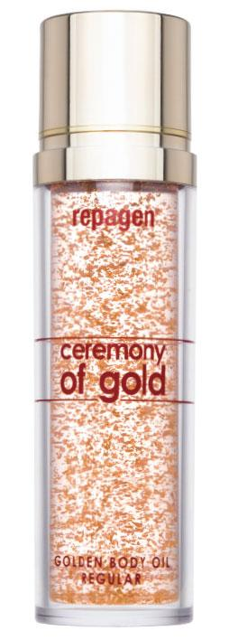 GOLDEN BODY OIL REGULAR - CEREMONY OF GOLD 145 ml