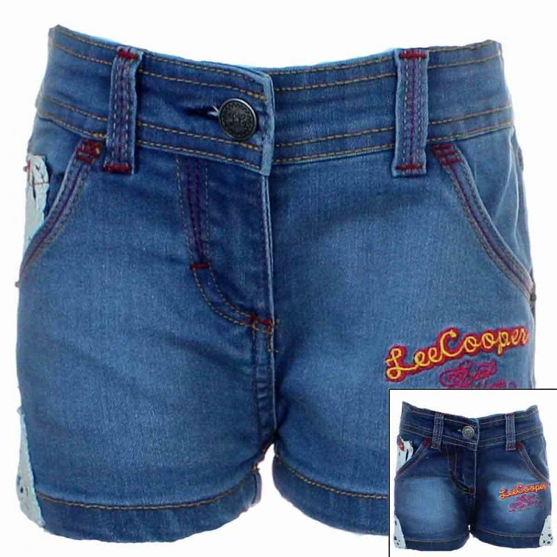 8x Shorts slim Lee Cooper du 2 au 5 ans