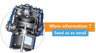 LOW PRESSURE COMPRESSORS - OIL FREE 2 stage PISTON LOW PRESSURE Air Solutions
