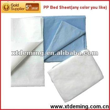 Disposable Medical Bed Sheet for Hospital(CE,FDA,ISO13485) - Non-woven Bed Sheet