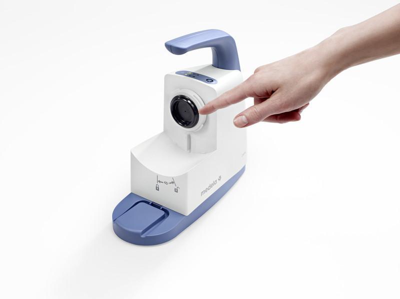 Aspirateur pour voies respiratoires Clario - Compacte et portative, le Clario est synonyme de liberté pour l'utilisateur.