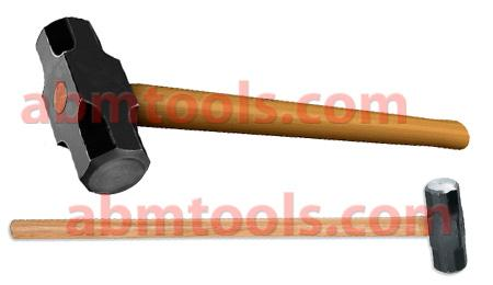 Sledge Hammer - Great for heavy hammer work like driving spikes and demolition work.