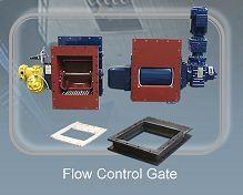 Flow control gate - Bulk Material Handling