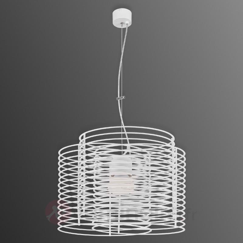 En acier - Suspension Ringo 50 cm, blanc - Toutes les suspensions