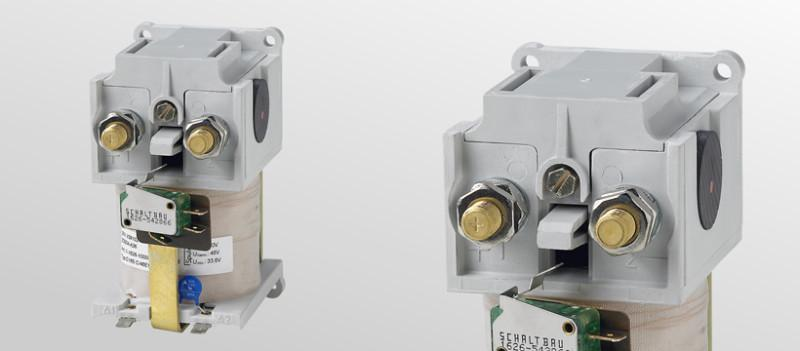 Battery contactors C137 - C165 - DC contactors 40 A up to 220 A and for the most common coil voltages up to 120 V