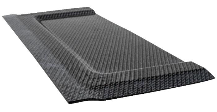 Aerolite Carbon: verformbares Karbonfasergefülltes Polyolefi - Karbonfaser gefülltes polyolefin zum Verformen