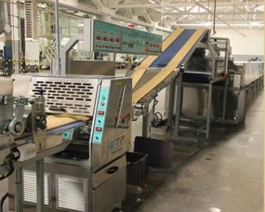 Grissini production line