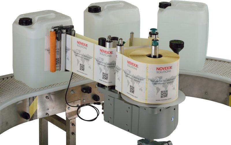 Labeler ALS 209 - automatic labeler / for self-adhesive labels / large width/flexible/robust