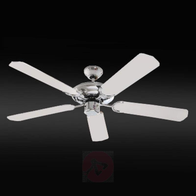 SuperStar ceiling fan, chrome finished - fans
