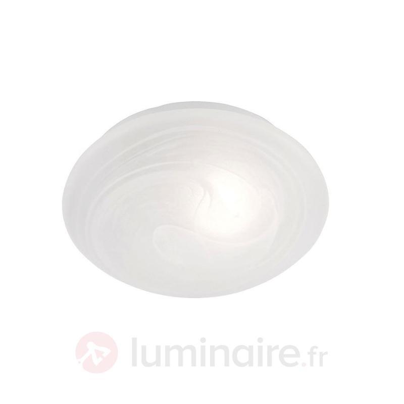 Elégant plafonnier TAMMO diamètre 25 cm - Plafonniers en verre