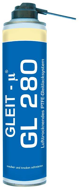 PTFE-Gleitlacksystem - GLEIT-µ® GL 280