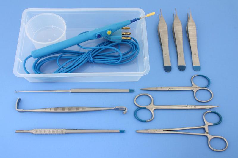 Disposable sets voor plastische en esthetische chirurgie