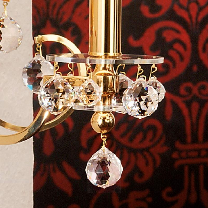 Gorgeous fabricwall lamp Crystal Design - design-hotel-lighting
