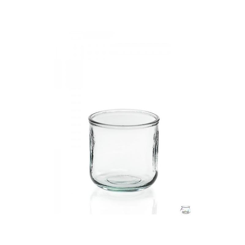 4 Photophores en verre LISO BAJO 300 ml - Vases, Lanternes, décoration