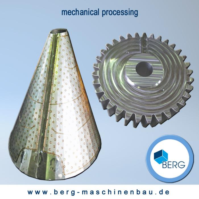 Mechanical processing - CNC milling, CNC turning, CNC folding presses, CNC burning plasma & autogenous