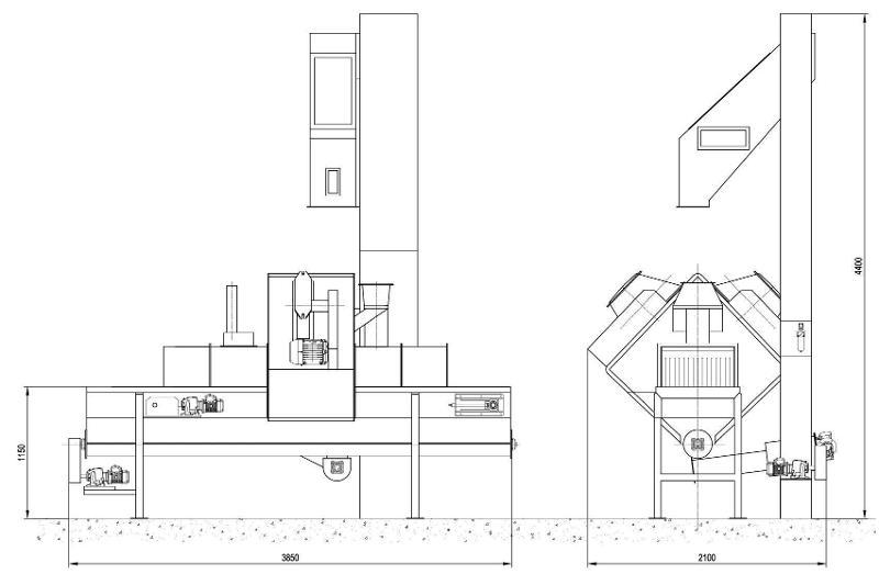 COSER CS OCR490/2T - Sabbiatrici e granigliatrici