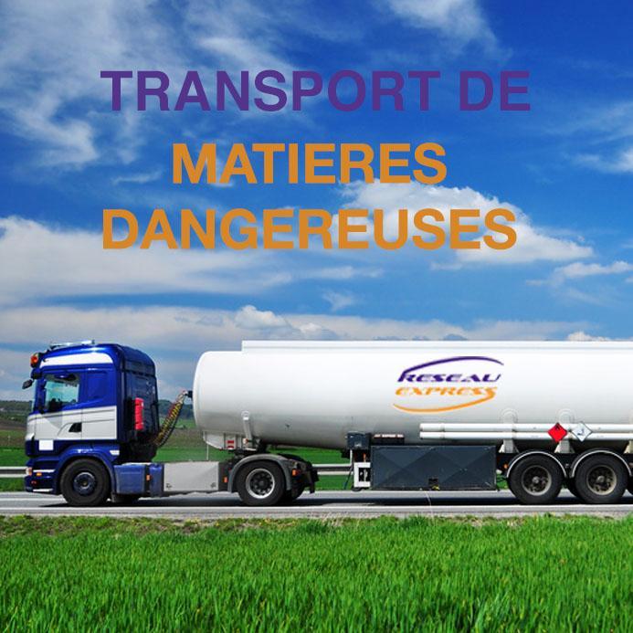 Transport de matières dangereuses - ADR