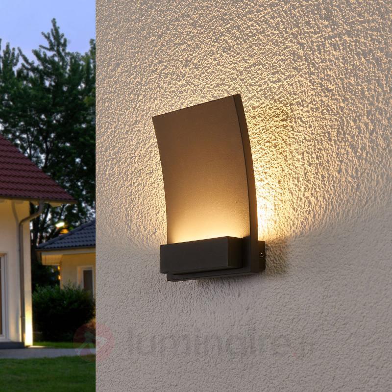 Matilda - applique courbe pr ext. LED - IP54 - Appliques d'extérieur LED