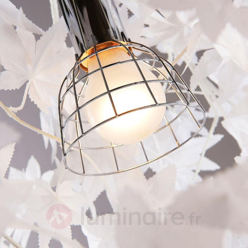 Suspension Maple avec décor de feuilles - Suspensions en tissu