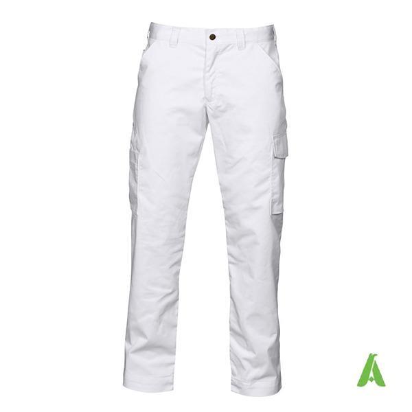 Pantalone da lavoro di alta qualita' con tasche laterali - Pantalone per artigiani e industria, tessuto di alta qualita', tasche laterali