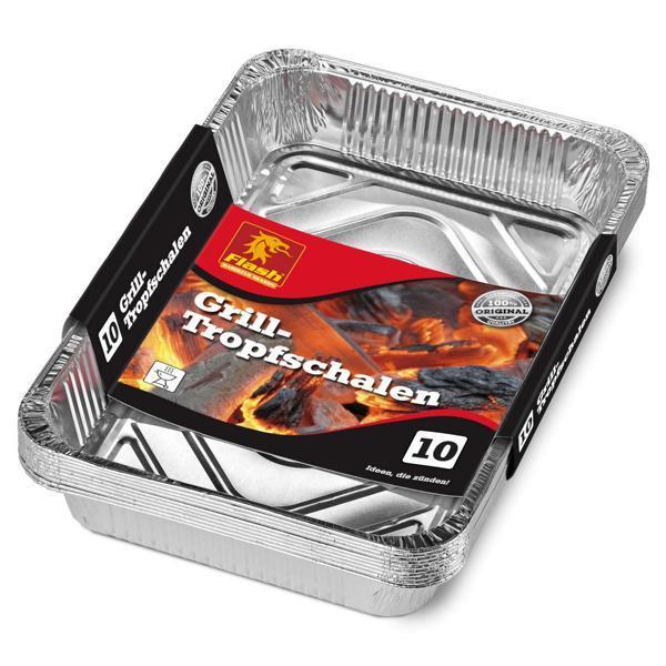 FLASH Grill-Tropfschalen 10er Beutel -