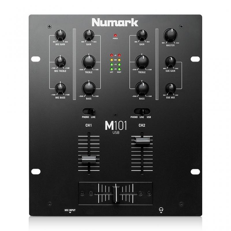 DJ-Mixer - Numark M101 USB Black