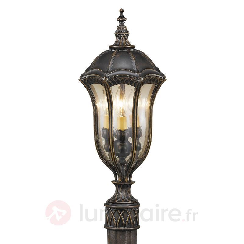 Luminaire pour socle BATON ROUGE style antique - Toutes les bornes lumineuses