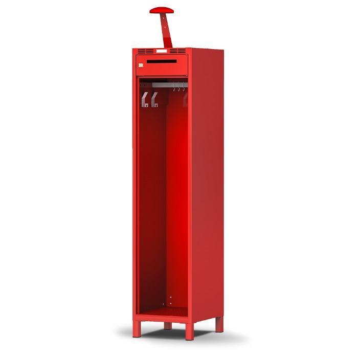 Vestiaire pompier PRO - fonctionnel et solide - avec 1, 2 ou 3 compartiments