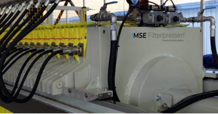 Filtro pressa a membrana - La filtropressa a membrana - massimo drenaggio grazie alla tecnologia a membrana