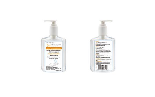 SOL-M Instant hand sanitizer - Hygiene