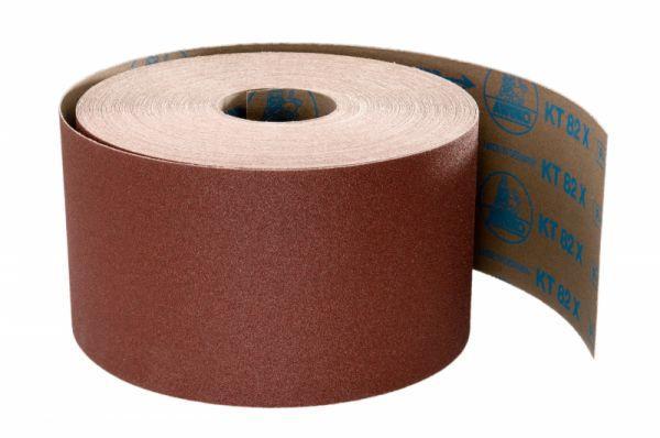 Schleifrollen für Holz / Fußboden KT82X - Körnungen: P16, P24, P36, P40, P50, P60, P80, P100, P120