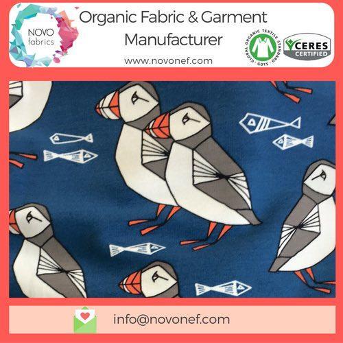 100% Organic Cotton Brushed Sweat Gots Fabric French Terry