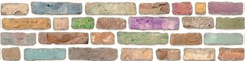 FAUX WALL PANEL - STYROFOAM - Faux brick wall