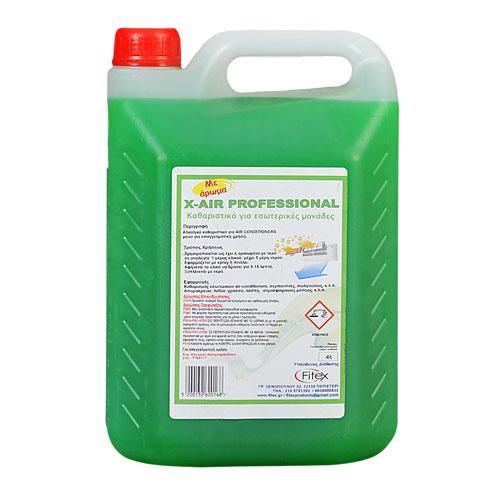 Καθαριστικό για εσωτερικά στοιχεία air-condition - X-AIR 4L Professional In