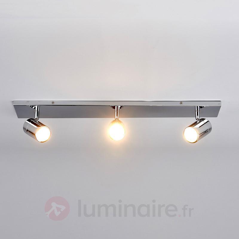 Plafonnier pour salle de bains Dejan à 3 lampes - Salle de bains