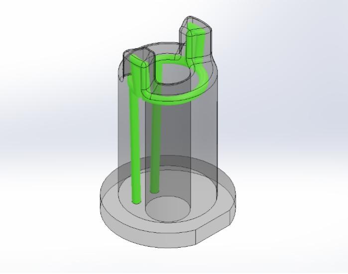 3D metal print -