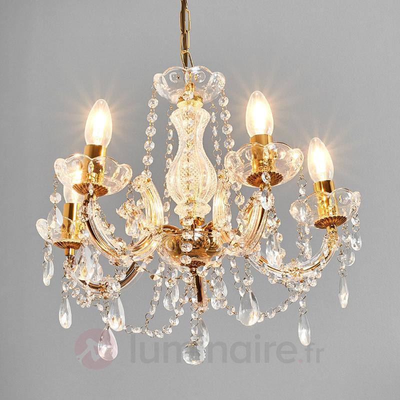 Beau lustre MARIE THERESE à 5 lampes - Tous les lustres
