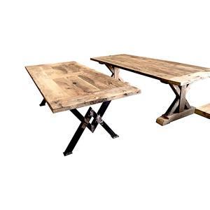 TABLE EN VIEUX CHENE  - PLATEAU EN VIEUX CHÊNE RUSTIQUE