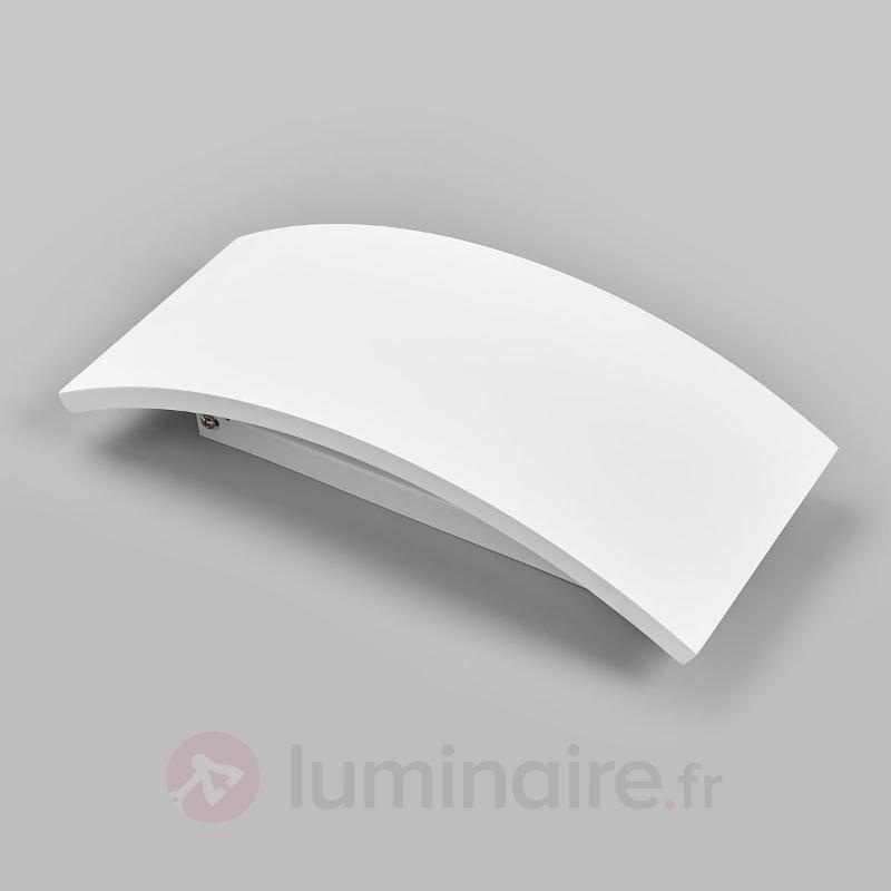Applique intemporelle Naike en plâtre - Appliques en plâtre