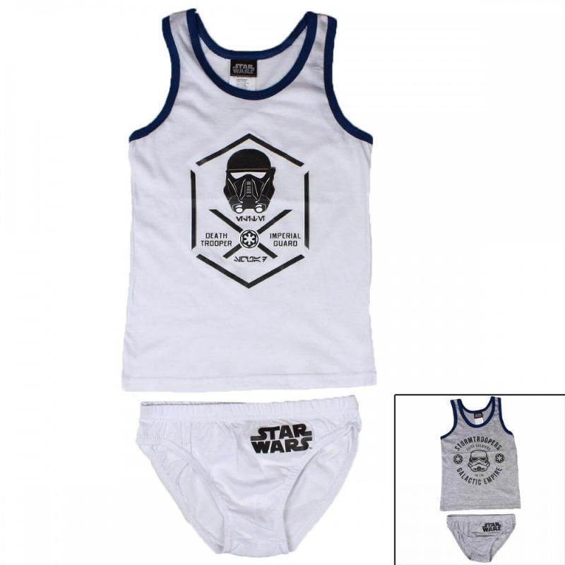 12x Ensembles 2 pieces Star Wars du 6 au 12 ans - Sous-vêtement