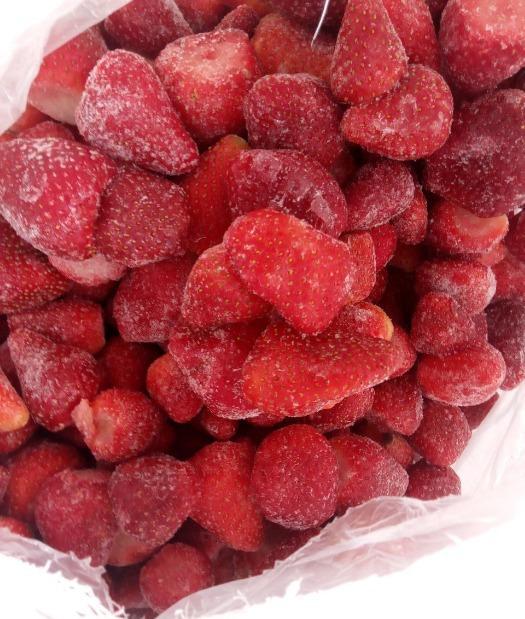 Fresas congeladas - Orgánica