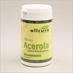 Acerola-Lutschtabletten - Vitamine