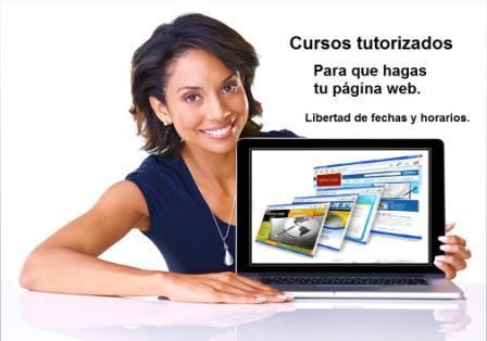 Curso cómo hacer una página web - Avanza a tu ritmo y consulta las veces que necesites los videos tutoriales.