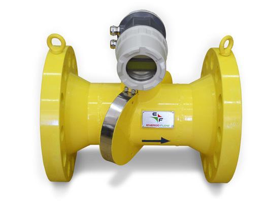 High Accuracy Ultrasonic Flow Meters Energoflow GFE-404